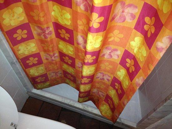 Il Paggino: tenda del bagno