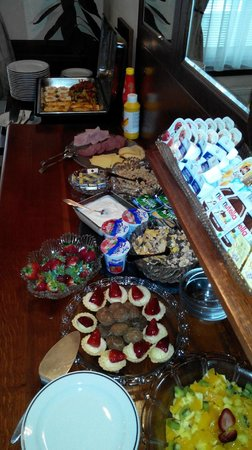 GJ Residence Na Vinohradu: breakfast overview
