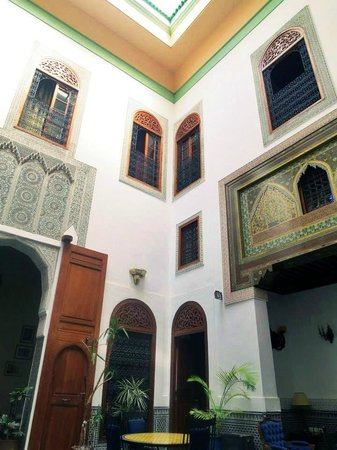 Riad Zamane: Patio