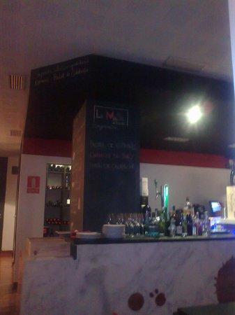La Musa de Velarde: Restaurante de diseño