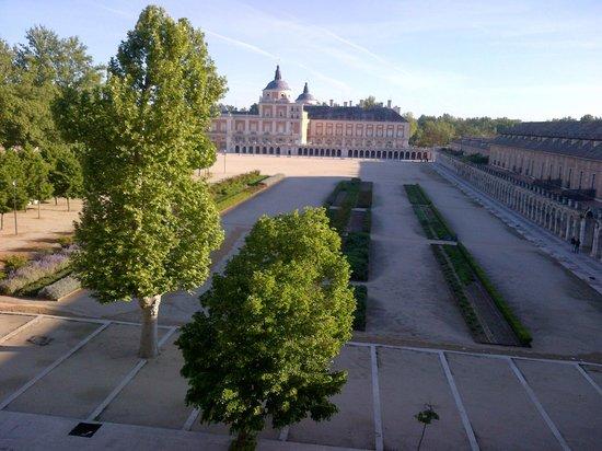 NH Collection Palacio de Aranjuez: vista dalla camera sul Palazzo Real