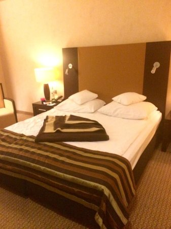 Polonia Palace Hotel: very comfy bed