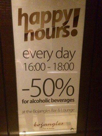 Polonia Palace Hotel: happy hour!
