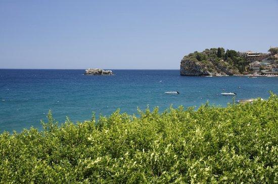 Lido Mediterranee Hotel : Вид из окна