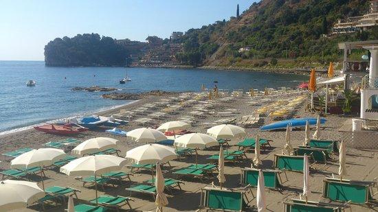 Lido Mediterranee Hotel: Пляж