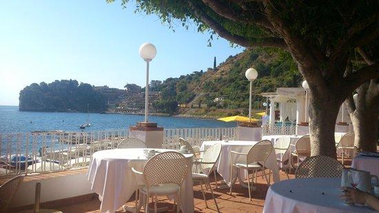 Lido Mediterranee Hotel: Терраса ресторана
