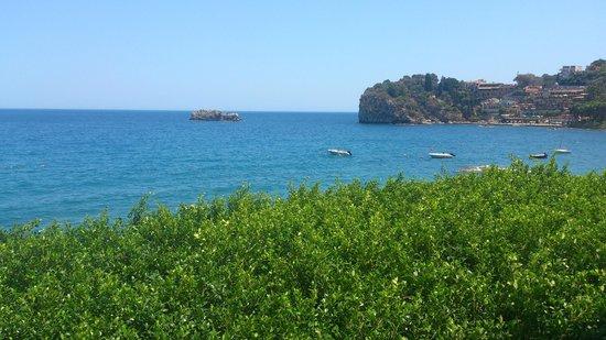 Lido Mediterranee Hotel: Вид из окна