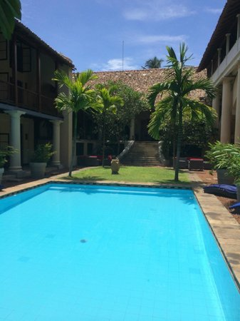 Galle Fort Hotel: Piscina
