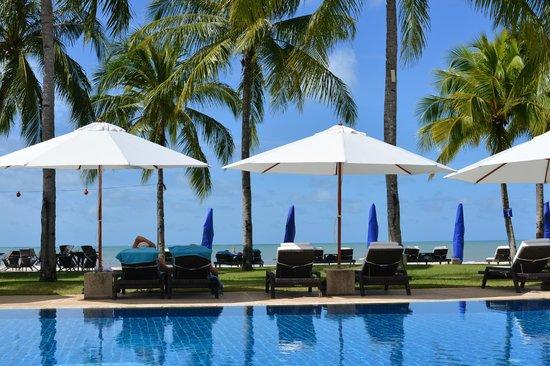 Casa del Mar, Langkawi: プール 天気がいいと最高
