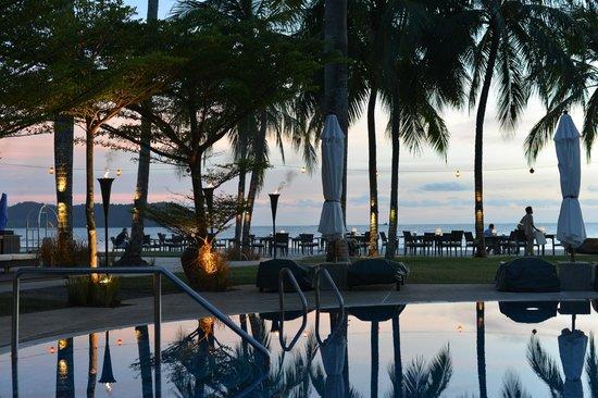 Casa del Mar, Langkawi : 夕日を見ながらディナー