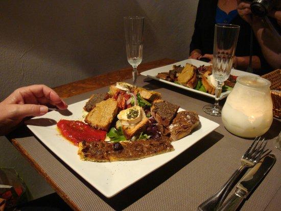 Malabar restaurant : Plat provençal