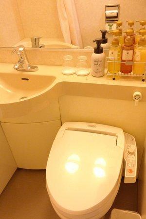 Hotel Il Cuore Namba : Bathroom