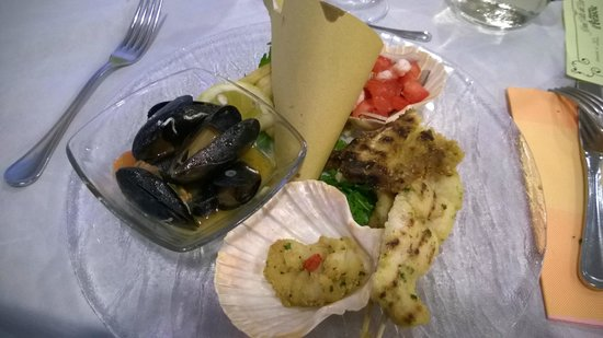 Hotel Villa del Parco : remix di pesce