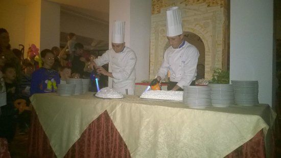Hotel Villa del Parco: la pasticceria