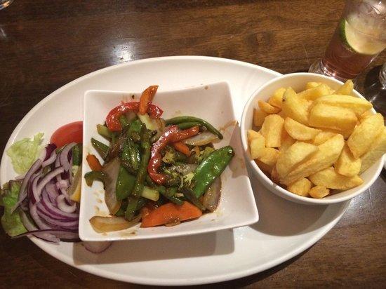 The Point Bar and Restaurant: Stir fry