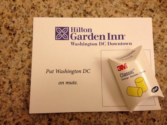 Hilton Garden Inn Washington, DC Downtown: Freundliche Empfehlung des Hotels