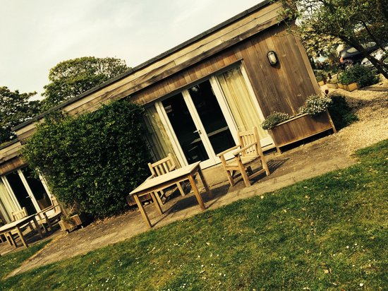 The Anchor: The outside of our garden room