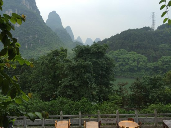Li River Resort : View from our balcony