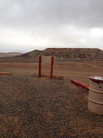 Four Corners Monument : Looking towards Utah