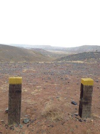 Four Corners Monument : Looking towards Colorado