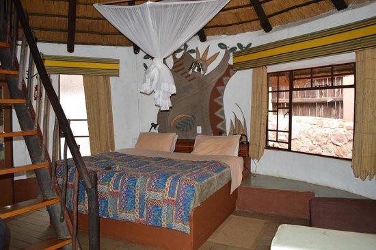 Mashovhela Bush Lodge : La chambre