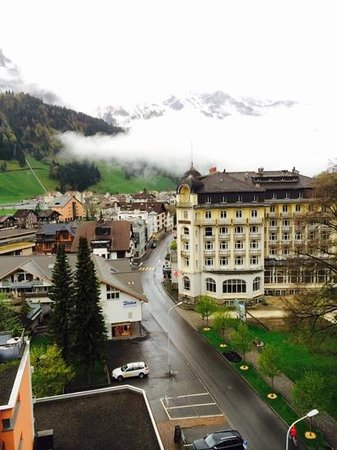 H+ Hotel & SPA Engelberg: from the room