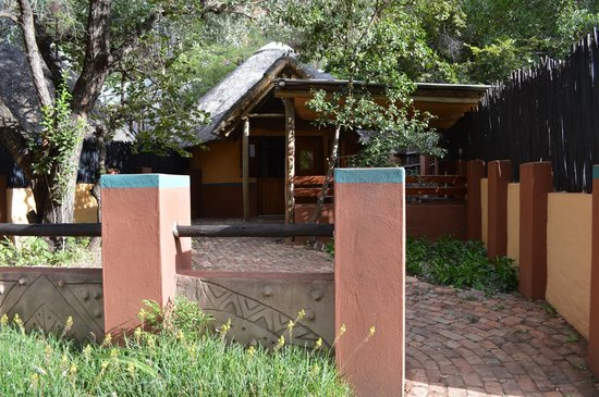 Mashovhela Bush Lodge: Un des rondavels