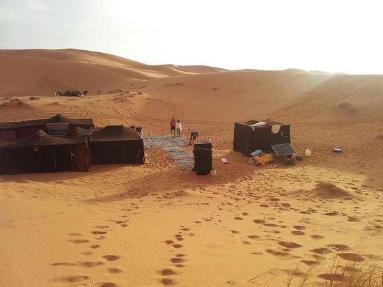 Merzouga Dunes Luxury Camps: eccoci verso il bivacco
