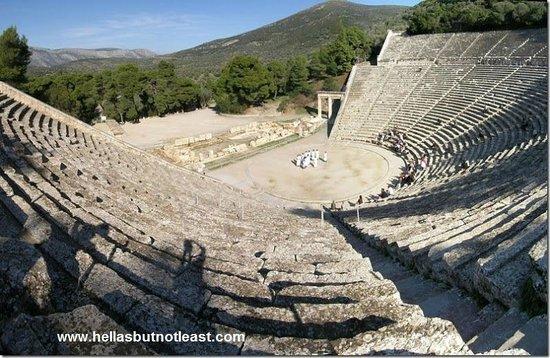 Théâtre d'Épidaure : Epidauros