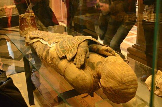 Louvre Museum: mummia
