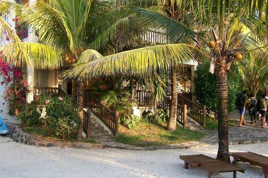Hibiscus Beach Resort & Spa: chambre donnant sur la plage