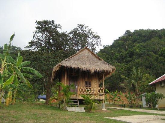 Q Bungalows: Wooden bungalow