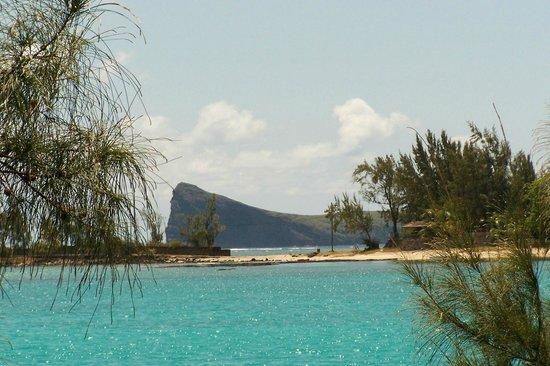 Hibiscus Beach Resort & Spa: coin de mire vue de la plage de l'hotel