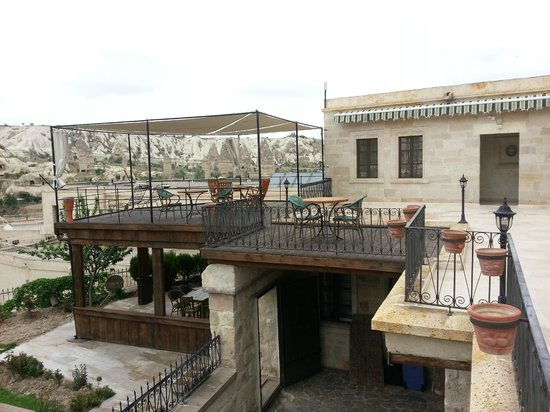 Goreme Suites: you can see that the view is still there when u are in the room