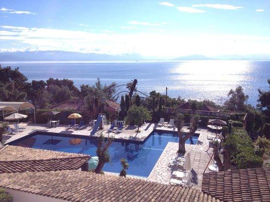 Alexandros: Balcony Sea View Room Overlooking The Pool