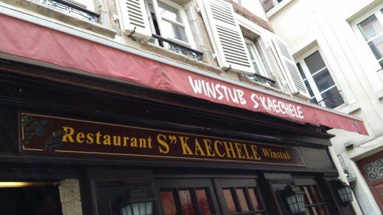 Winstub S'kaechele : Good to  visit
