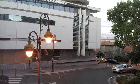 Appart'City Narbonne Centre : Vista desde habitación nº 106