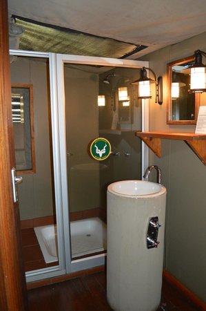 Punda Maria Restcamp : La salle de bains