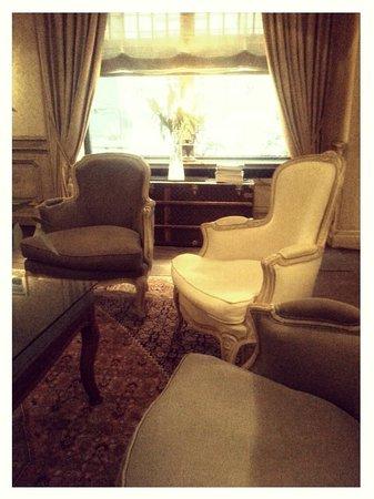 Relais Bourgondisch Cruyce - Luxe Worldwide Hotel: Reception seating
