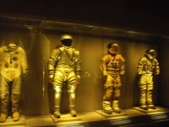 NASA Kennedy Space Center Visitor Complex: space suits