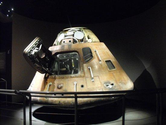 NASA Kennedy Space Center Visitor Complex: apollo 14 kitty hawk module