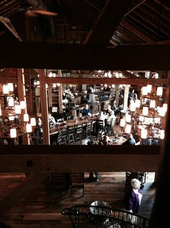 The Villas at Gervasi Vineyard : from the loft in the Bistro restaurant