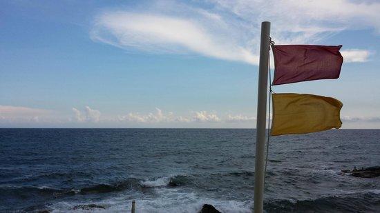 Hotel Rocce del Capo: spiaggia