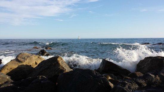 Hotel Rocce del Capo: spiaggia privata