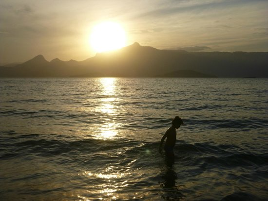 Vila Galé Eco Resort de Angra : Por do sol na praia