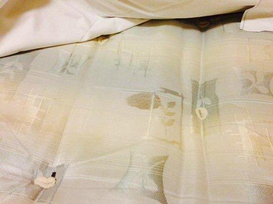 Broken bed frame - Picture of Berkeley Court, London - TripAdvisor