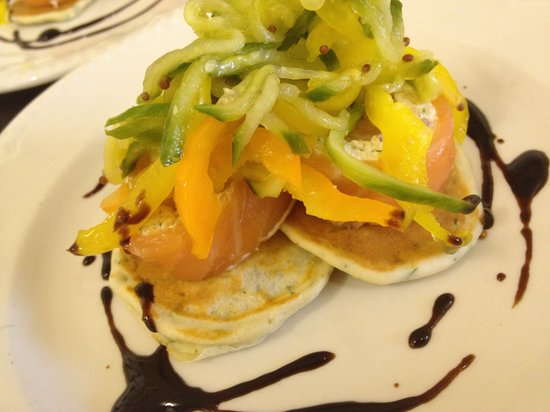 Whipsiderry Hotel: Smoked Salmon Roulard