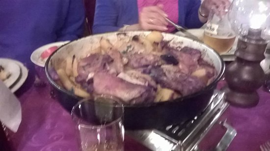 Orhan: Rustic Croatian food slow cooked under a bell for 2 hours - hearty fare