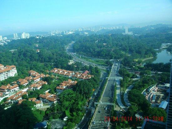 Le Meridien Kuala Lumpur: View from room