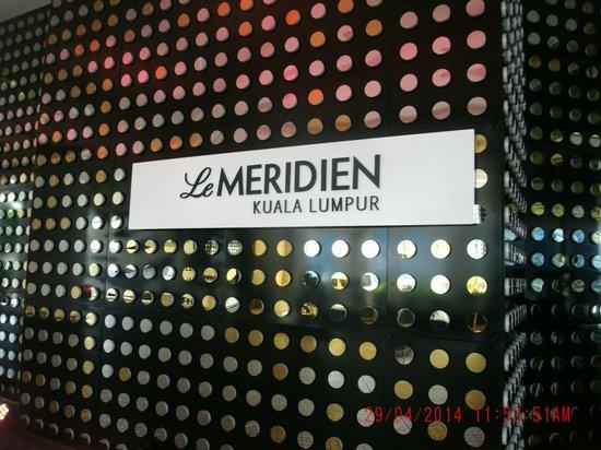 Le Meridien Kuala Lumpur: Facade